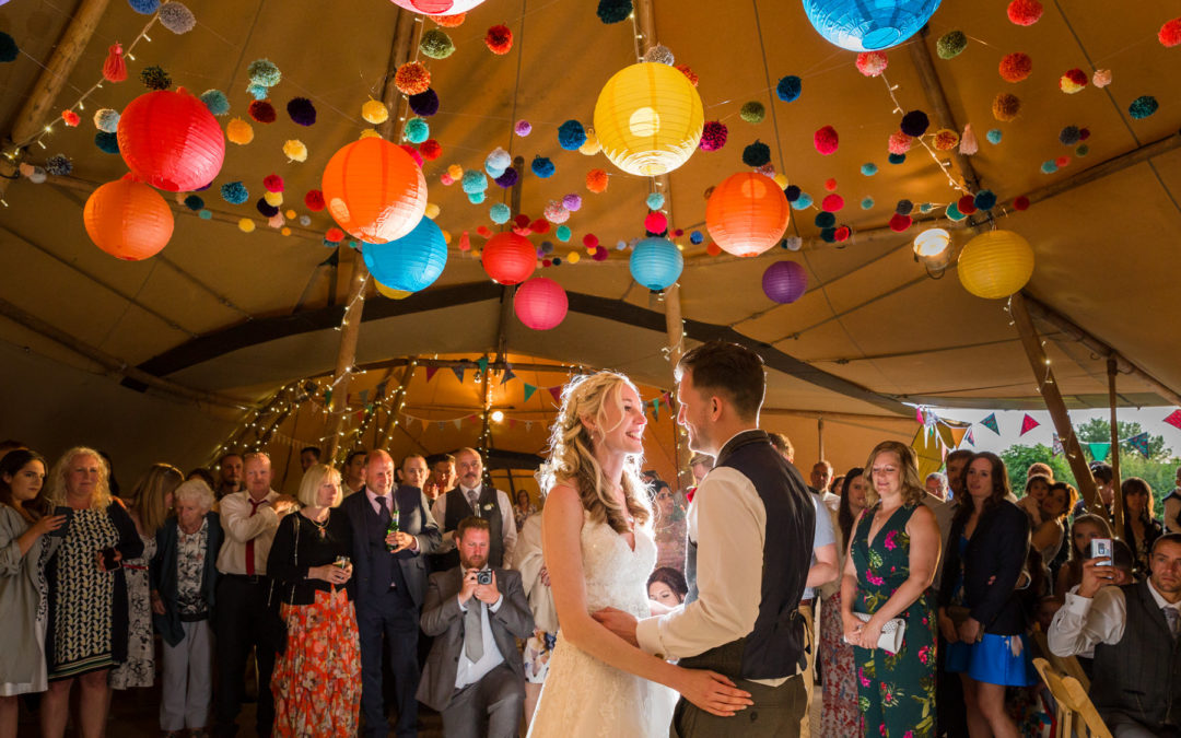 Festival Style Tipi Wedding, Lincolnshire Wedding Photography