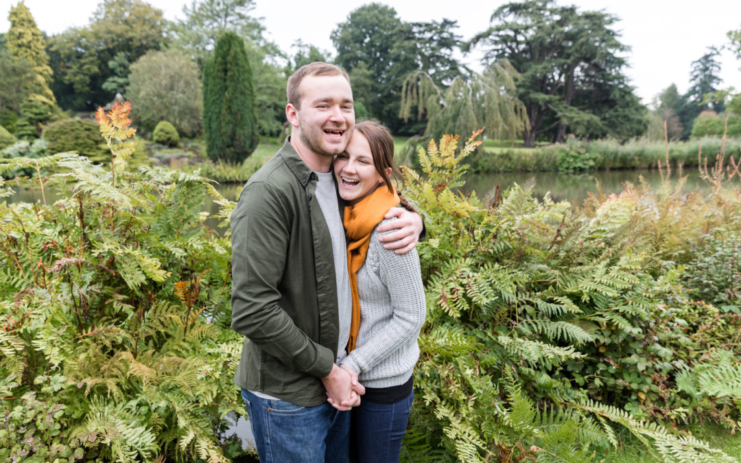 Pre-wedding shoot at Sandringham, Norfolk