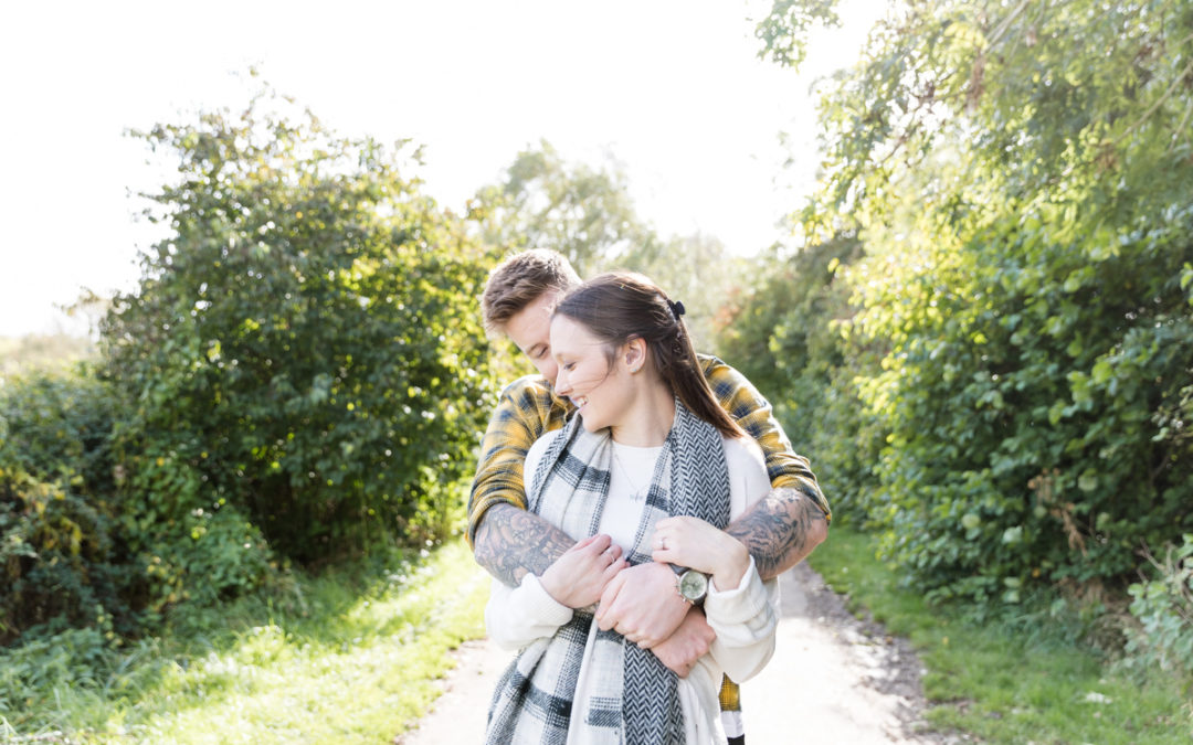 Pre-wedding shoot, Cambridgeshire