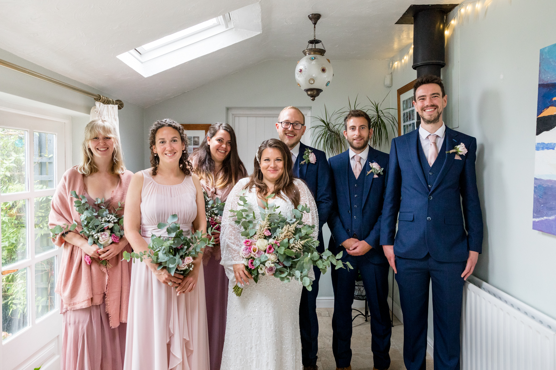 Bridal party in Norfolk