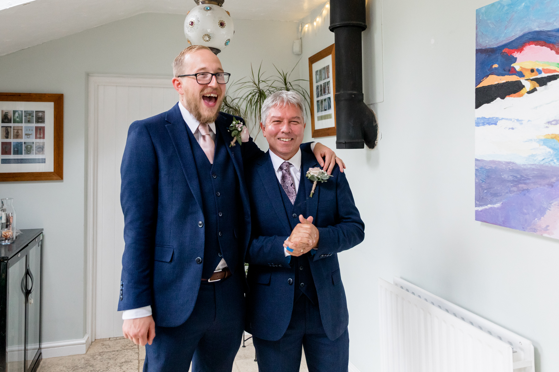 Groom and father-in-law